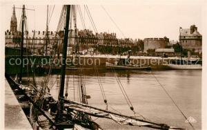 AK / Ansichtskarte Saint Malo_Ille et Vilaine_Bretagne Le Bassin a flot Saint Malo_Ille et Vilaine