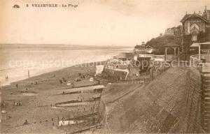 AK / Ansichtskarte Villerville_sur_Mer La Plage Villerville_sur_Mer