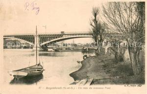 AK / Ansichtskarte Argenteuil_Val_d_Oise Un coin du nouveau Pont Argenteuil_Val_d_Oise