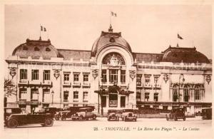 AK / Ansichtskarte Trouville Deauville La Reine des Plages Le Casino Trouville Deauville