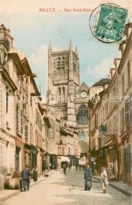 AK / Ansichtskarte Meaux_Seine_et_Marne Rue Saint Remy Meaux_Seine_et_Marne