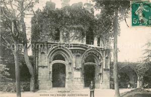 AK / Ansichtskarte Orleans_Loiret Ruines de l'Eglise Saint Jacques Orleans_Loiret