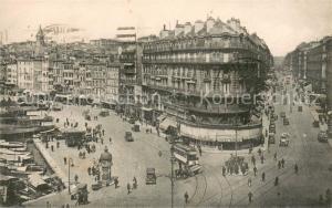 AK / Ansichtskarte Marseille_Bouches du Rhone La Rue de la Republique Marseille