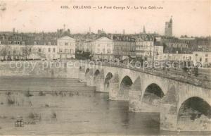 Orleans_Loiret Le Pont George V La Vue generale Orleans_Loiret