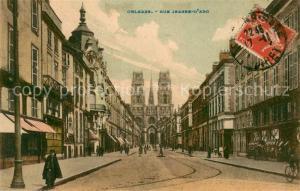 Orleans_Loiret Rue Jeanne d Arc Orleans_Loiret