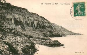 Villers sur Mer Les Falaises Villers sur Mer