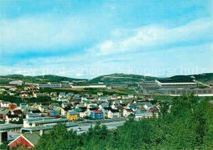 Kirkenes Utsikt over Kirkenes met A S Sydvaranger i bakgrunnen Kirkenes