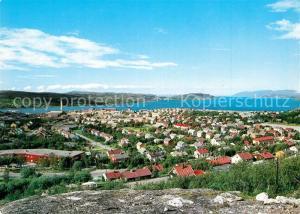 Kirkenes Utsikt over byen og fjorden Kirkenes