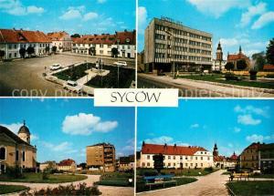 Sycow Plac Wolnosci Hotel E12 Skwer przy ulicy Michala Roli Zymierskiego Sycow