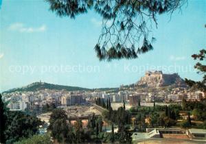 AK / Ansichtskarte Athen_Griechenland Panorama Athen_Griechenland