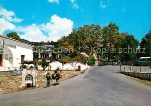 Pelion_Greece Platz des Dorfes Portaria Pelion Greece