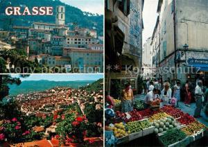 Grasse_Alpes_Maritimes Le March? Vieille Ville Grasse_Alpes_Maritimes