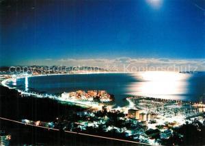 Cannes_Alpes Maritimes Reflets de lune sur le Golfe Cannes Alpes Maritimes