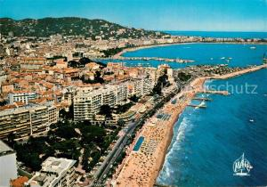 Cannes_Alpes Maritimes Fliegeraufnahme Plage du Midi Cannes Alpes Maritimes