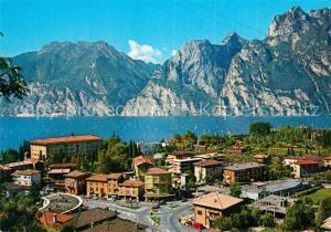 AK / Ansichtskarte Torbole_Lago_di_Garda Fliegeraufnahme Lago di Garda Torbole_Lago_di_Garda