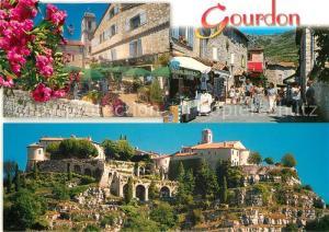 AK / Ansichtskarte Gourdon_Alpes Maritimes Vieux village feodal Gourdon Alpes Maritimes