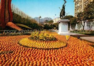 AK / Ansichtskarte Menton_Alpes_Maritimes La Fete du Citron Monument Collection Couleurs et Lumiere de France Menton_Alpes_Maritimes