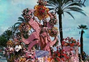 AK / Ansichtskarte Nice_Alpes_Maritimes Bataille de Fleurs Fiesta Nice_Alpes_Maritimes
