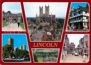 AK / Ansichtskarte Lincoln Sehenswuerdigkeiten der Stadt Zentrum Lincoln