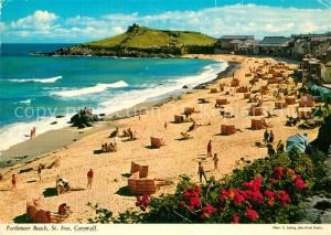 AK / Ansichtskarte St_Ives_Cornwall Porthmeor Beach St_Ives_Cornwall
