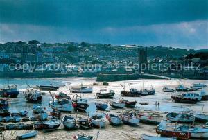 AK / Ansichtskarte St_Ives_Cornwall Hafen St_Ives_Cornwall
