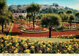 AK / Ansichtskarte Torquay_UK Torre Abbey Gardens Torquay_UK