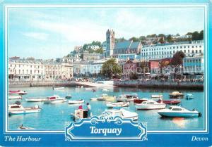 AK / Ansichtskarte Torquay_UK Harbour Torquay_UK