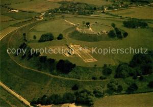 AK / Ansichtskarte Old_Sarum Aerial view Old_Sarum