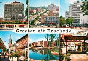 AK / Ansichtskarte Enschede Teilansichten Enschede