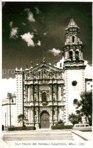 AK / Ansichtskarte San_Luis_Potosi Templo del Carmen San_Luis_Potosi