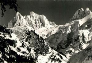 AK / Ansichtskarte Engelberg_OW Grosses und Kleines Spannort Urner Alpen Engelberg OW