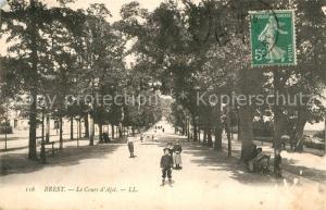 AK / Ansichtskarte Brest_Finistere Cours d Ajot Brest_Finistere