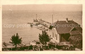 AK / Ansichtskarte Chens sur Leman Le port Lac Leman Chens sur Leman