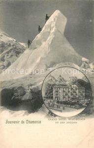 AK / Ansichtskarte Chamonix Grand Hotel Beau Rivage et des Anglais Mont Bergsteiger Chamonix