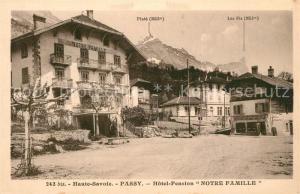 AK / Ansichtskarte Passy_Bonneville Hotel Pension Notre Famille Passy_Bonneville