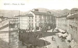 AK / Ansichtskarte Schio Piazza A. Rossi Schio