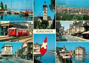 AK / Ansichtskarte Rorschach_Bodensee  Rorschach Bodensee