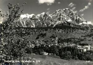 AK / Ansichtskarte Cortina_d_Ampezzo Cristallo Cortina_d_Ampezzo