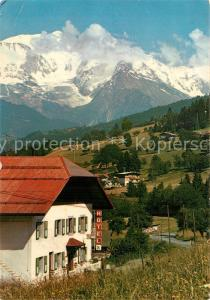 AK / Ansichtskarte Sallanches Hotel les Granits Face au Mont Blanc Sallanches
