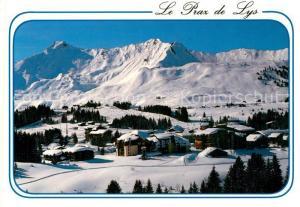 AK / Ansichtskarte Praz_de_Lys Vue d'ensemble de la station et La Pointe de Marcelly Praz_de_Lys