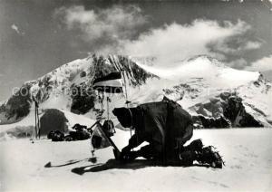AK / Ansichtskarte Nosha_Mountain_Afghanistan Bergsteiger Hochgebirge oesterreichische Expedition