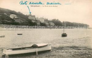 AK / Ansichtskarte Locquenole Les Bords de la Riviere Locquenole