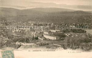 AK / Ansichtskarte Annecy_Haute Savoie Vue generale Annecy Haute Savoie
