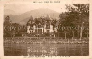AK / Ansichtskarte Tourronde_Lugrin Bord du lac Villa Gryere