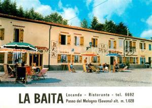 AK / Ansichtskarte Calizzano La Baita Bar Ristorante Passo del Melogno Calizzano