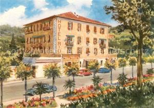AK / Ansichtskarte Finale_Ligure Hotel Rio Kuenstlerkarte Finale_Ligure