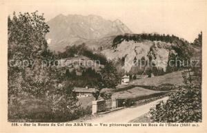 AK / Ansichtskarte Aravis Vue pittoresque sur les Rocs de l Etale Aravis