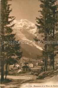 AK / Ansichtskarte Chamonix et le Dome du Gouter Chamonix