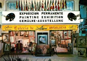 AK / Ansichtskarte Torremolinos Galeria de Arte Andalucia Galerie Gemaelde Ausstellung Torremolinos