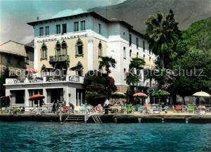 AK / Ansichtskarte Malcesine_Lago_di_Garda Albergo Malcesine Hotel am Gardasee Malcesine_Lago_di_Garda